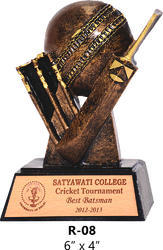 Resin Cricket Trophy