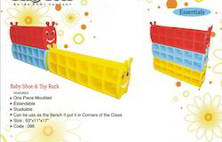 Baby Shoe and Toy Rack