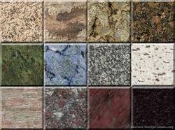 Coloured Granites Slab