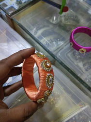 Stoned Worked Bangles