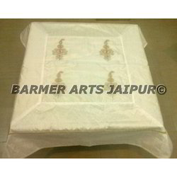 Silk Embroidery Table Cover