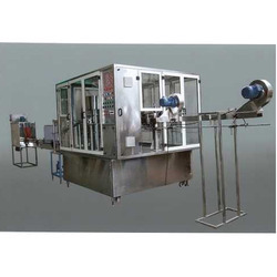 40 Ltr Jar Rinsing Filling Capping Machine