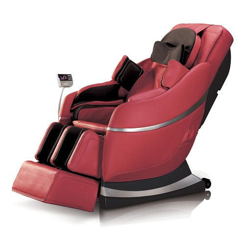 Red PU Leather Luxury 3D Massage Chair