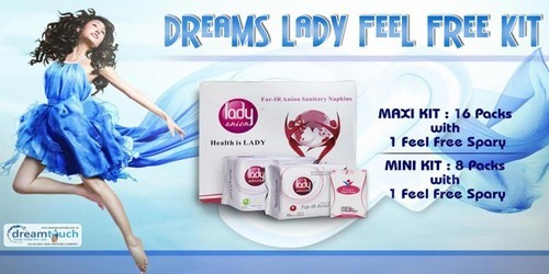 Lady Napkin Kit - 705 X 353 | Healthcare Dream Touch | Exporter in