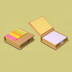 Corporate Eco Folding Paper Tray with Memo Pad