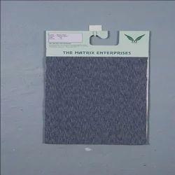 Grindle Black Mock Twist Poly Cotton Fabrics, 150-200 GSM