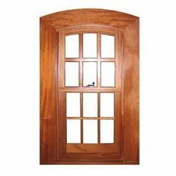 Brown Fancy Wooden Window