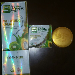 9 Herbs Whitening Creams