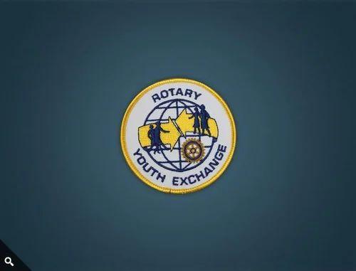 Pocket Badges - Hand Embroidered Pocket Badges Manufacturer from Mumbai