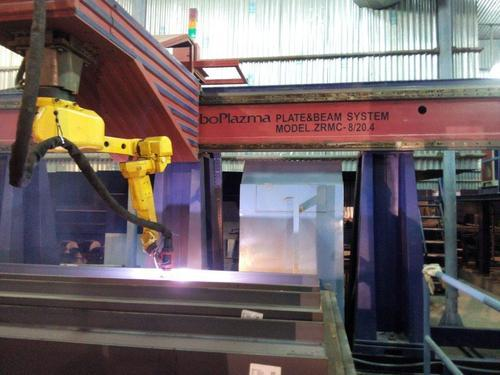 Automatic Fronius Robotic Plasma Welding Automation System