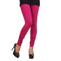 Ladies Plain Cotton Legging