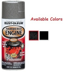 Rust Oleum Automotive Hammered Engine Enamel Spray Paint