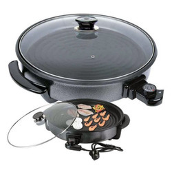 Circal Circle Black Electric Pan, Capacity: Minimum
