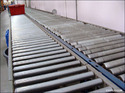 Carbon Steel Gravity Roller Conveyor, Capacity: 1-50 Kg Per Feet