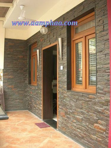 Dholpur Stone Elevation : Stone wall cladding ideas at rs sft koyambedu