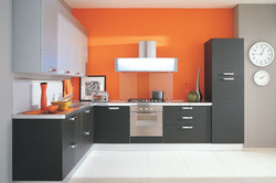 L Shape Modular Kitchens At Rs 100000 Set L Shape Modular Kitchen