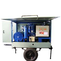 High Vacuum Transformer Oil Filtration Plant