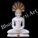 Marble Shekeswar Parshwanath Ji Statue
