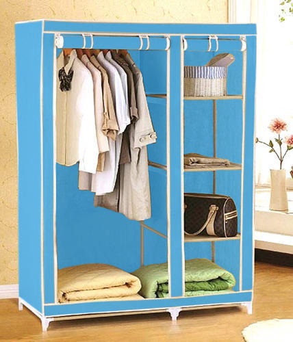 f797a3f0d Wardrobes Furniture - 110 cm Collapsible Folding Almirah Rack ...