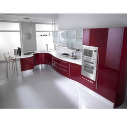 Modern Modular Kitchen Cabinet, Rs 600 /square feet, Macro ...