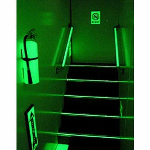 Rectangular Square Photoluminescent Signages Rs 16
