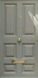 Solid Wood Plywood Door