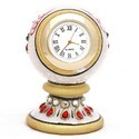 Golden Marble Table Clock Mb171