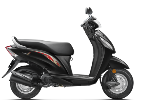 how to ride a scooty activa