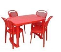 Table Chair Set Cello Plastic Furniture