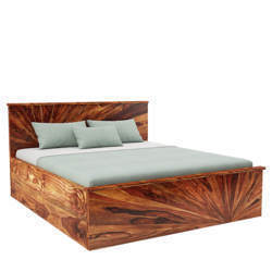 Sunrise King Bed Rich Honey With Storage At Rs 34990 King Bed Id