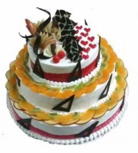 3 Tier Fruit Cake