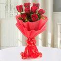 Enigmatic Eit Red Flower Bunch