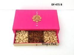 Slider Wooden Dry Fruit Box