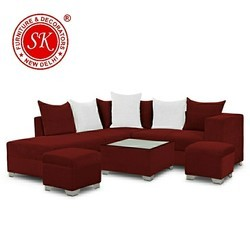 Maroon Sofa Set