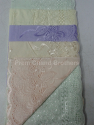 Chiken Work Cotton Hankerchief Bridal