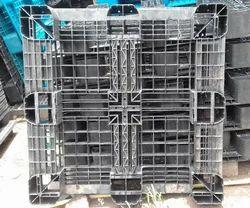 Gray Plastic Pallet, Capacity: 1000/1500