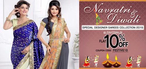 2ae034b5e7 Party Wear Sarees, Sarees, Lehenga And Salwar Suits | Pavitraa ...