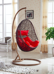 Nest Style Outdoor Wicker Hanging Chair