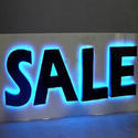 Back lit Glow Sign Boards