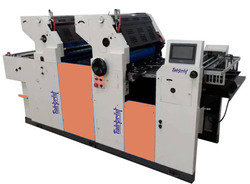 2 Color Carry Bag Printing Machine
