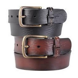 b9ef227be Blue Pure Leather Belts