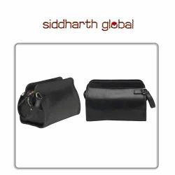 Leather Travel Kit Bag