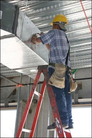 Image result for duct installation