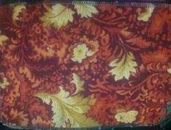 Mixed Printed Carpet Fabric And Rubber On Back Home Furnishing, Size: 14x22