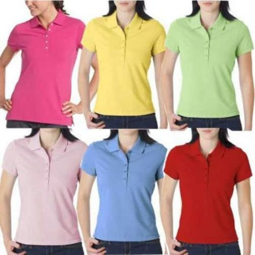 Ladies Polo T Shirt at Rs 190  piece  b4d1569bfed3