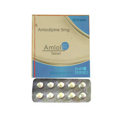 Allopathic Amlodipine 5mg Tablets