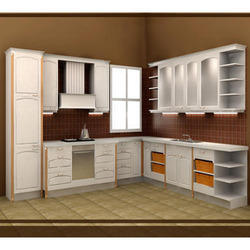 PVC Modular Kitchen Cabinet