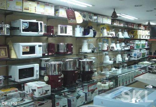 Home Appliance Rack | SKL Showroom Interior | Manufacturer