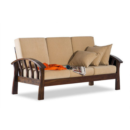 Teak Wood Sofa Set at Rs 25000 /set(s) | Wooden Sofa Set ...