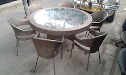 Wicker Dining Furniture Set